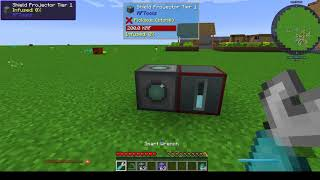 Minecraft Tutorial Shield Projector ohne Blank Templates