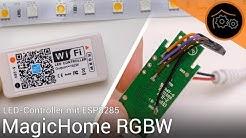 Magic Home RGBW LED-Controller - Ersteinrichtung und Tasmota flashen | haus-automatisierung.com [4K]