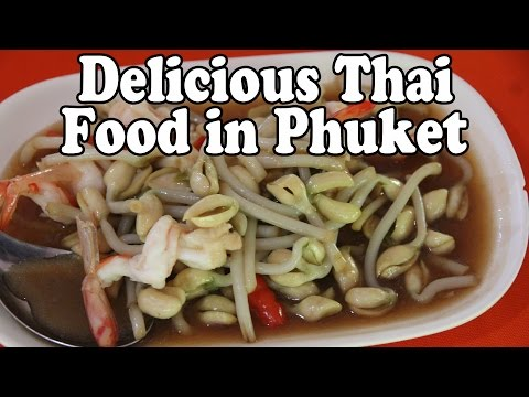 Phuket Thai Food: Authentic Thai Food at a Mor Mu Dong Restaurant, Phuket Thailand Vlog