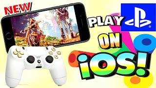 Play PS4 Games On IPhone, IPad, And IPod Touch - On IOS 2017 (NO COMPUTER) (NO JAILBREAK)