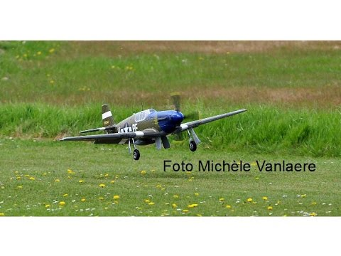 FMS P51B Dallas Darling with Hobbyking wingcam 720 dpi