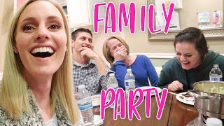 SCANDALOUS FAMILY FONDUE PARTY!