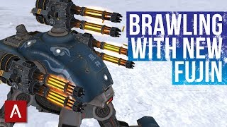 War Robots Android Gameplay / Brawling With My NEW Fujin Punishers / Gold League | WR