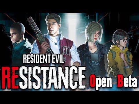 Крутой конкурент дед бай дейлайт! Resident Evil Resistance Open Beta! 1 против 4