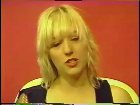 Cherie Gillette interviewing the band,  L7