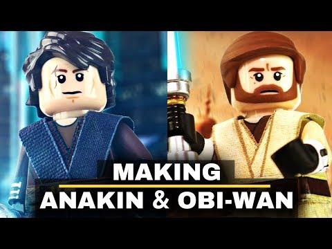 Making Anakin Skywalker & Obi-Wan Kenobi In LEGO