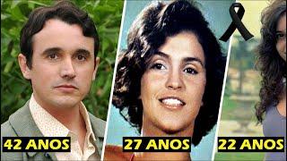 ATORES brasileiros FAMOSOS que PARTIRAM cedo demais!