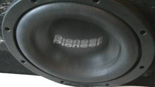Awesome close up subwoofer excursion w/ Four 8