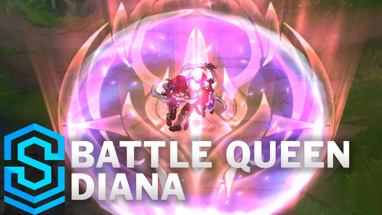 Battle Queen Diana Skin Spotlight - Pre-Release - League of Legends