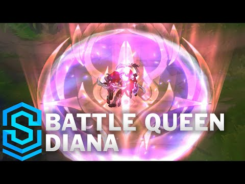 Battle Queen Diana Skin Spotlight - Pre-Release - League of Legends