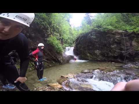 Österreich Tirol Canyoning & Rafting