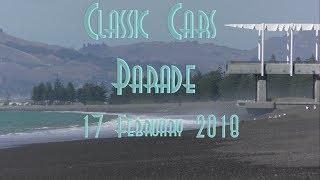 Napier Classic Cars Parade 17 Feb 2018 Art Deco Festival