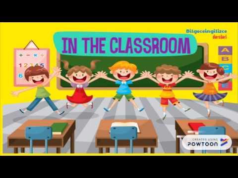 2. Sınıf İngilizce 3.ünite(IN THE CLASSROOM)