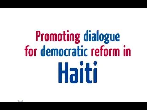 Video Summary Club de Madrid / EU Project Promoting Dialogue for Democratic Reform in Haiti