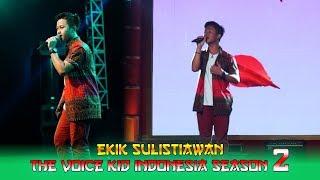 Penampilan EKIK THE VOICE KID INDONESIA Season 2 Memeriahkan P…