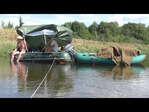 сплавы по рекам на моторных лодках