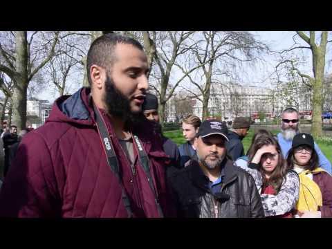 Fierce Woman Interrogates Muslims on Terrorism!!