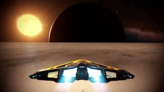 Elite Dangerous Timelapse Asteroid Belt