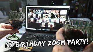 My Surprise Birthday Party via Zoom | Vlog #888