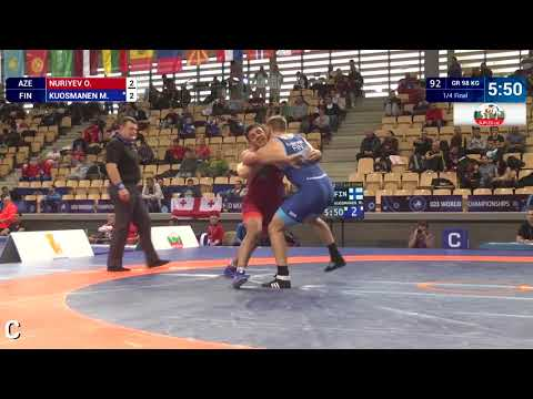Big Move From Day 1 Of The U23 World C'ships !