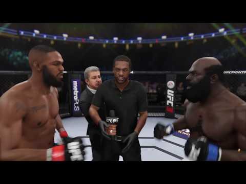 Jon Jones Vs. Kimbo Slice (EA Sports UFC 3) - Crazy UFC 👊🤪