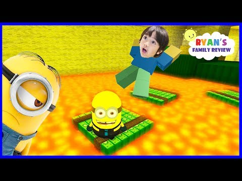 Thumbnail: Despicable Me 3 Minion Game! Oh No Floor is Lava! Let's Play Roblox with Ryan's Family Review