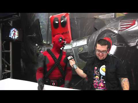 Deadpool Discusses the Deadpool Game at Comic-Con 2012