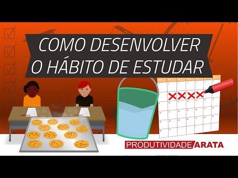 Como desenvolver o hábito de estudar todo dia?   Produtividade Arata 21