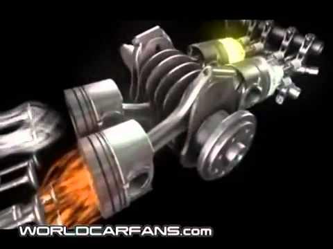 Subaru Boxer Turbo Diesel Engine Animation Youtube