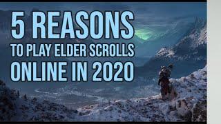Elder Scrolls Online: 5 Reasons To Play In (2020)
