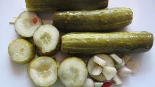 Огурцы консервированные рецепт с фото