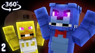 Five Nights At Freddy's 1 - Minecraft 360° Video