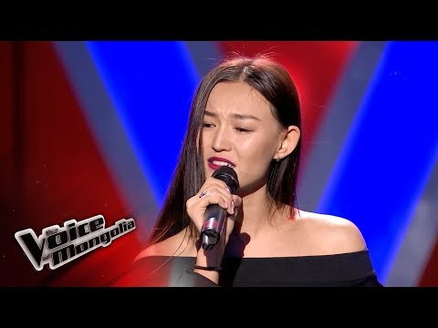 "Bayarjargal.Ya - ""Хүрч чадахгүй"" -  Blind Audition - The Voice of Mongolia 2018"