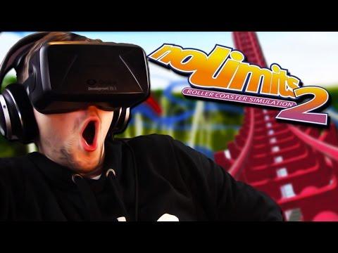 MOST REALISTIC ROLLER COASTERS   No Limits 2 (Oculus Rift DK2)