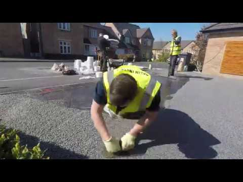 Resin Driveway installed in platinum | Resin install Manchester, Lancashire
