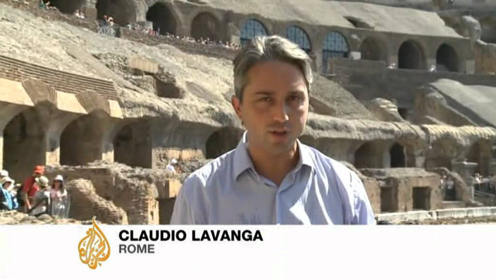 Fashionable face-lift for Rome's Colosseum