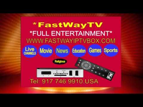FASTWAY IPTV BOX AD 10 Seconds
