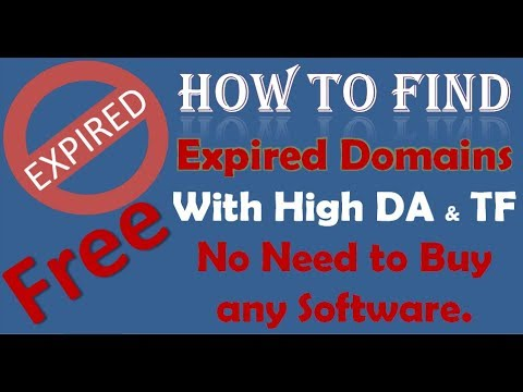 How to find & buy high authority expired domains FREE (Urdu/Hindi)