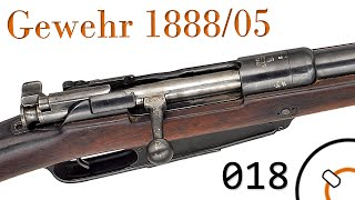 """Small Arms of WWI Primer 018: German Gewehr 1888/05 """"Commission Rifle"""""""