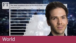 Bar chart race: the most populous cities through time