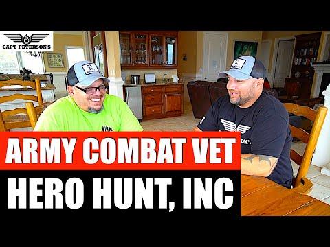 Hero Hunt Inc, 1SG Pablo Cadena Wounded Warrior - Veteran's Day Deep Sea Fishing St George Island,FL