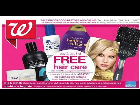 walgreens weekly ad for next week in USA April 2017 - YouTube