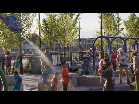 Chicago Park District La Villita Park: SmithGroupJJR