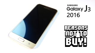 Reasons NOT to Buy the Samsung GALAXY J3 2016(, 2016-04-08T17:41:15.000Z)
