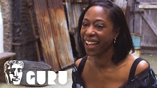 I really love that feeling of collaboration Nikki Amuka-Bird on acting