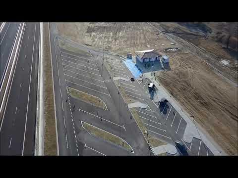 """Бойко Борисов: Още 23,6 км от АМ """"Струма"""" бяха пуснати за движение днес. Това ще облекчи значително трафика по един от най-натоварените маршрути на Балканите. Участъкът между Кресна и Сандански е изграден с финансиране от Кохезионния фонд на ЕС и националния бюджет. В участъка има 3 пътни възела, 25 големи съоръжения, както и 4 площадки за отдих."""