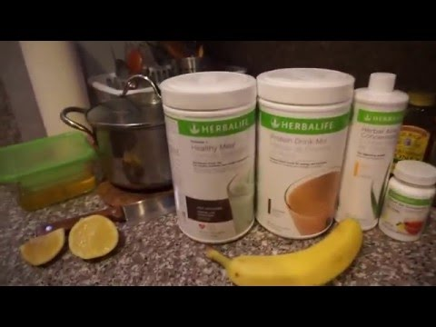How to Lose Weight on Herbalife | Jie Dong
