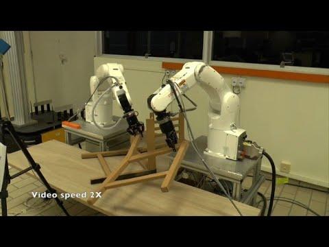Singapore scientists build Ikea chair-assembling robot