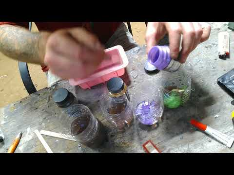Resin knife scales how to