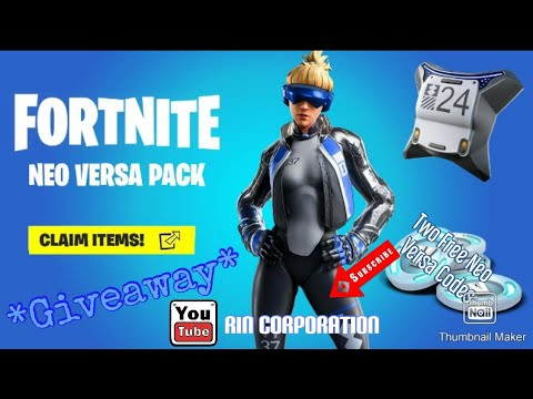 *Free Neo Versa Code* *Giveaway* Thanks for 8 subcribers - YouTube